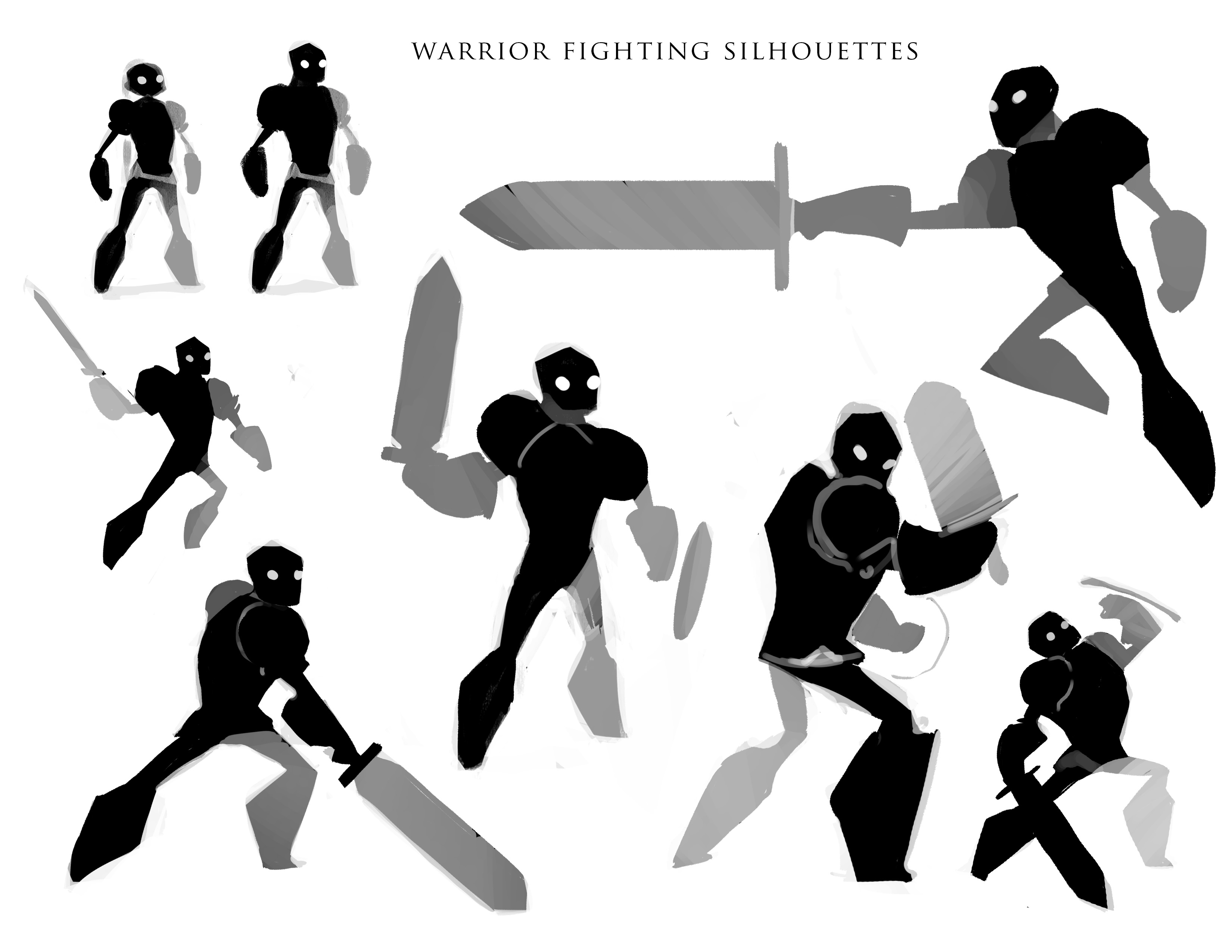 Warrior fighting concepts