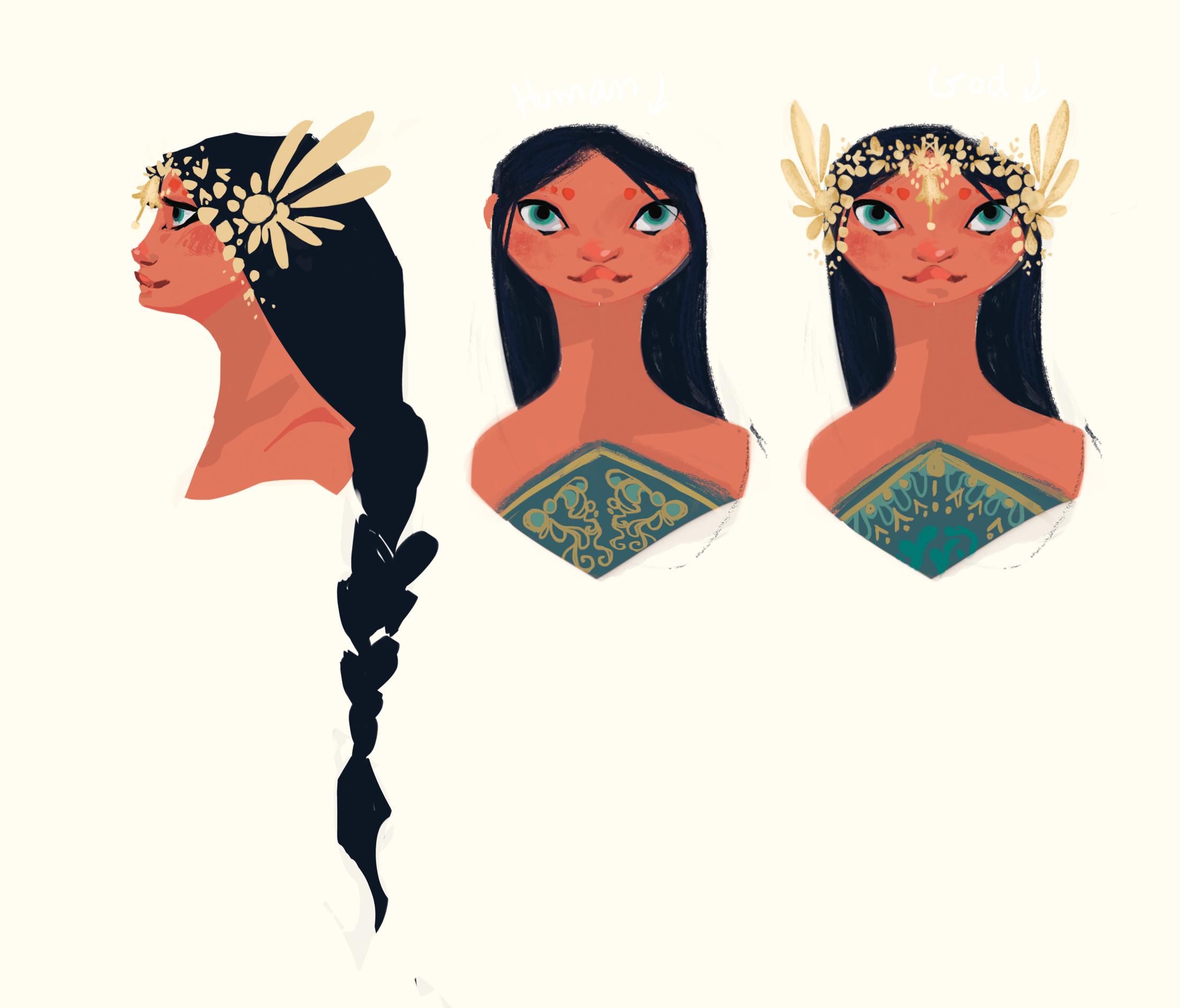 Lali head design