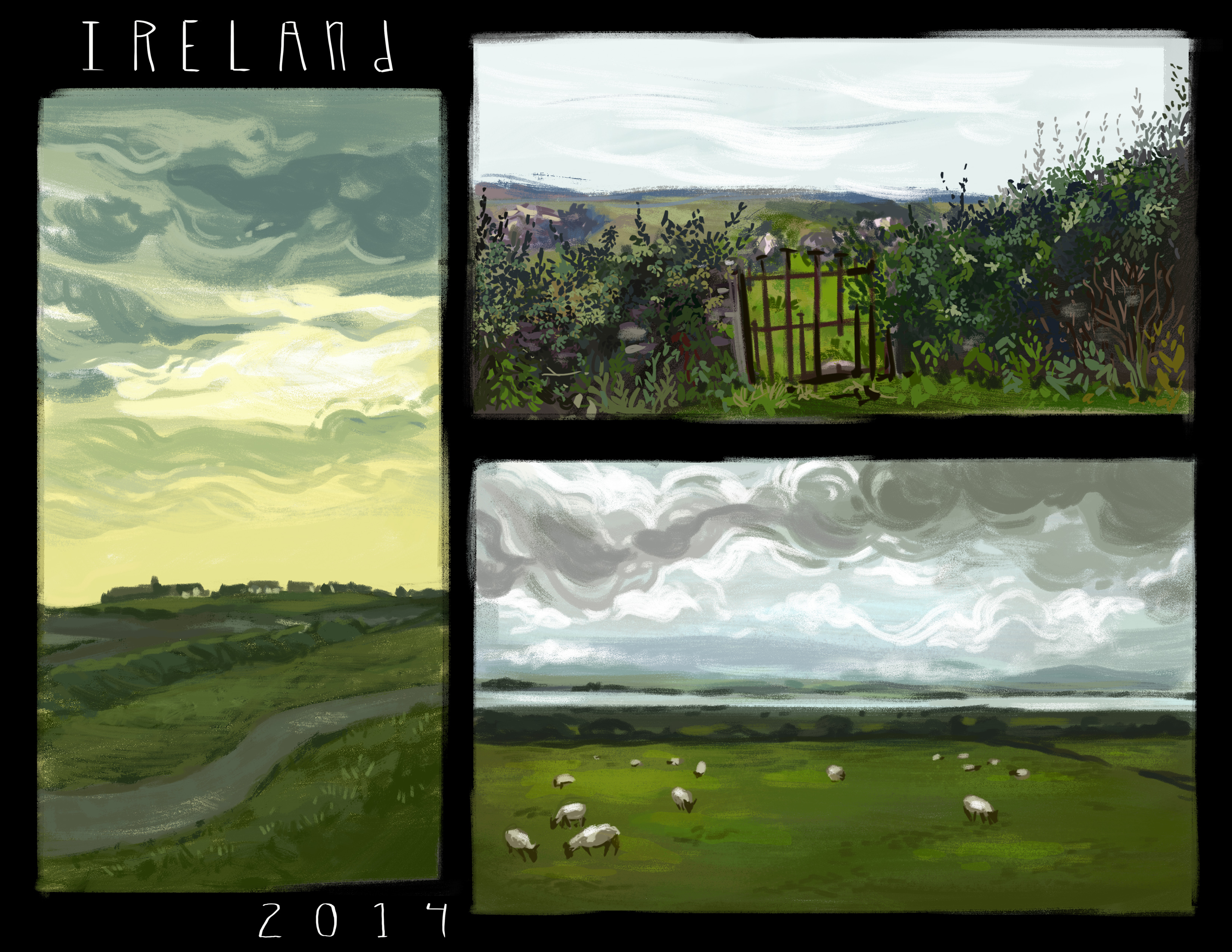 Digital studies of Ireland
