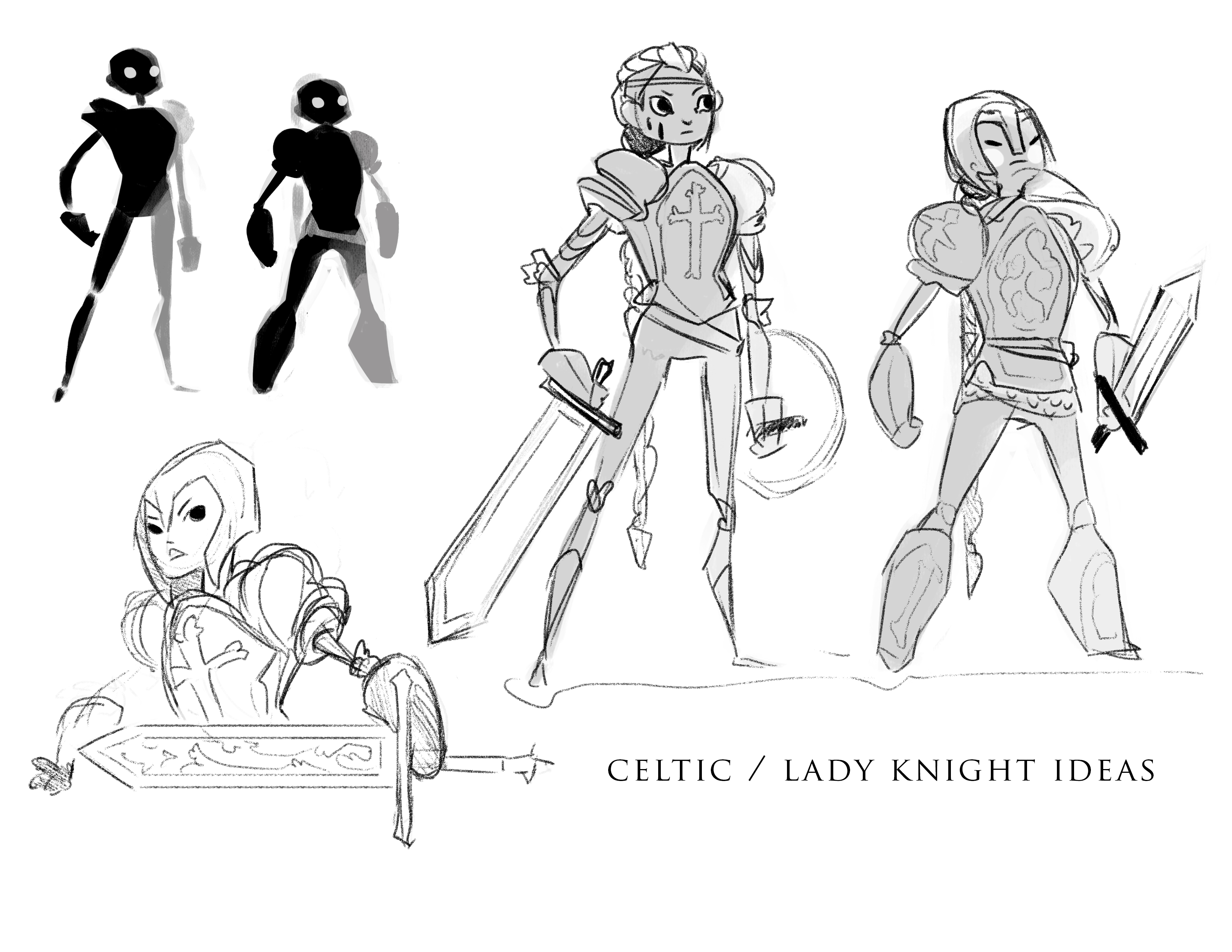 Early Warriror Concepts