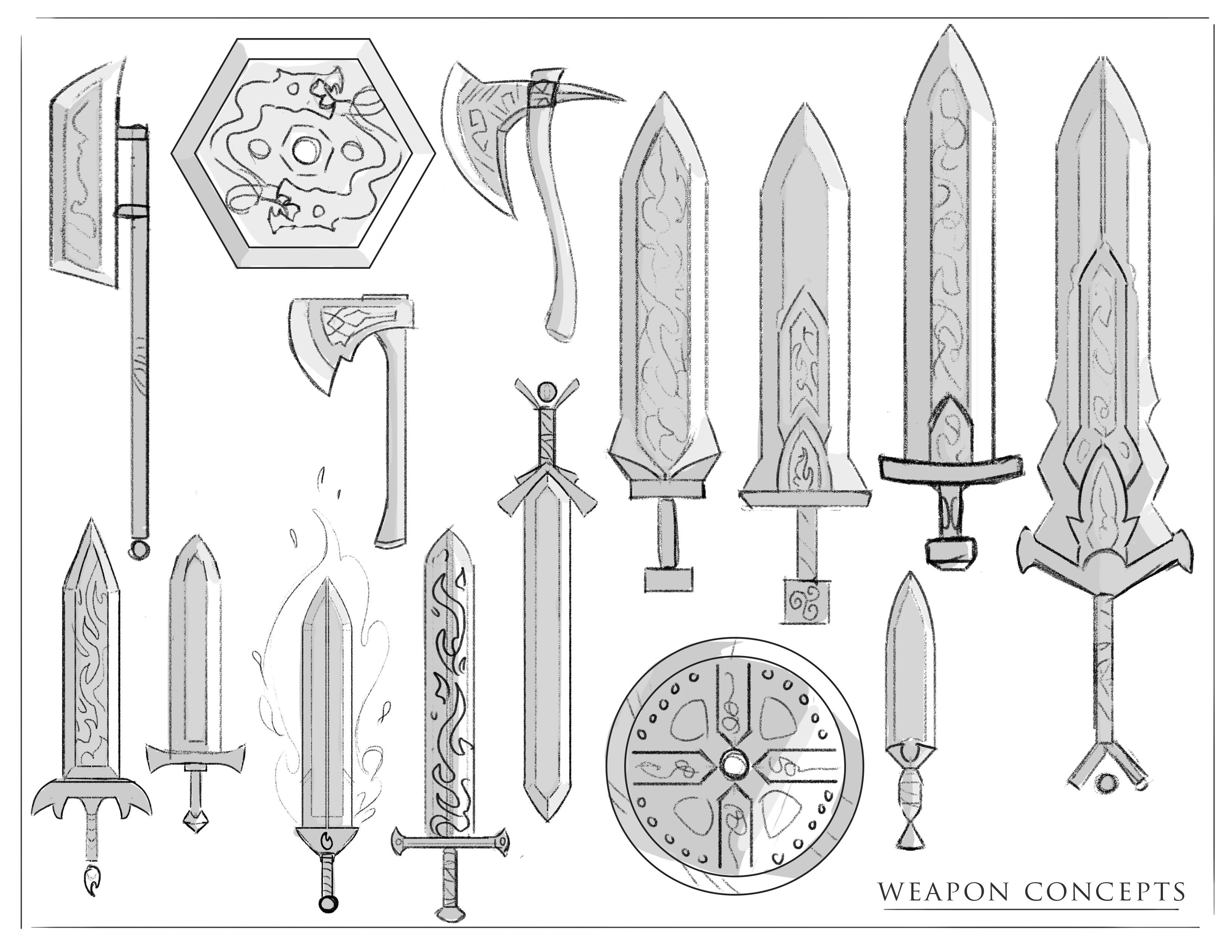 Weapon Concept Design