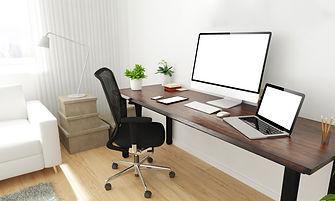 Work from home setup.jpeg