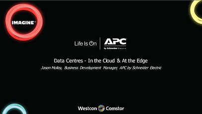 APC Data Centres - In the Cloud & At the