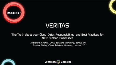 Veritas The truth about your cloud data-
