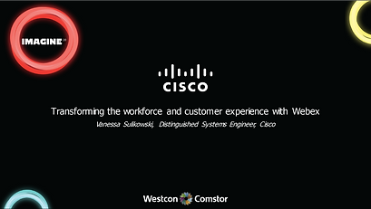 Cisco Transforming the workforce and cus