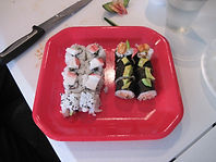 Basic Sushi making class