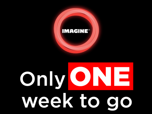 Only one week to go until Imagine 2020 Virtual!