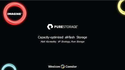 PureStorage Capacity-optimized all-flash