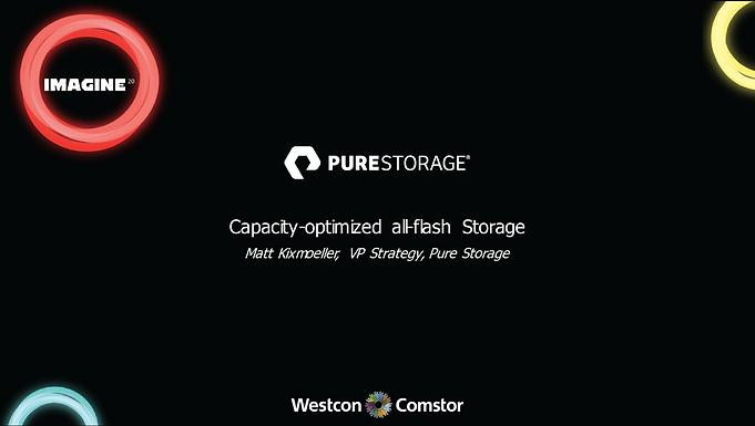 PureStorage Capacity-optimized all-flash