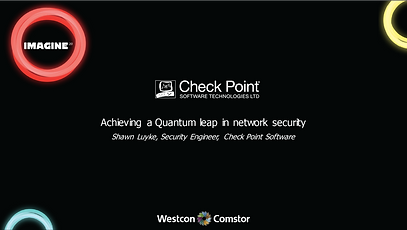 Check Point Achieving a quantum leap in