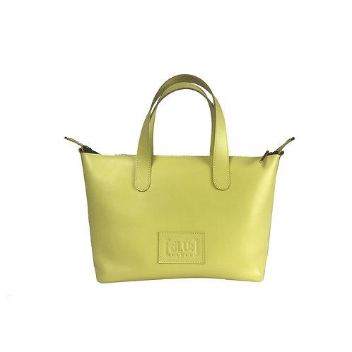 Handtasche aus pflanzliche gegerbtem Leder