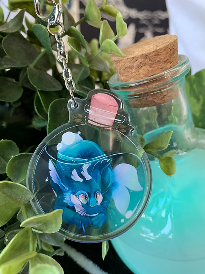 Potion bottle Dragon Acrylic Charm