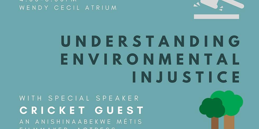 Environmental Equity Week: Cricket Guest