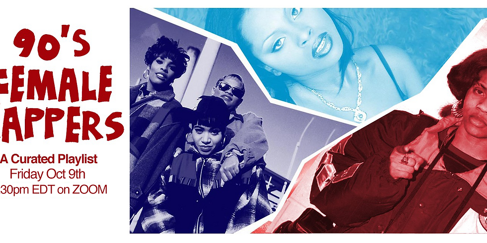 Virtual Listening Session: 90s Women Rappers