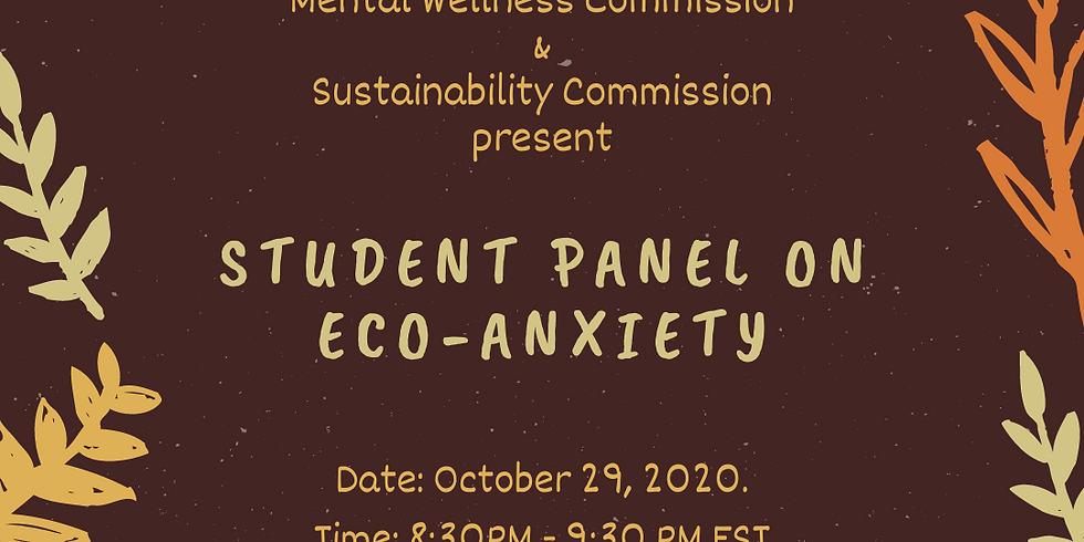 Student Panel on Eco-Anxiety