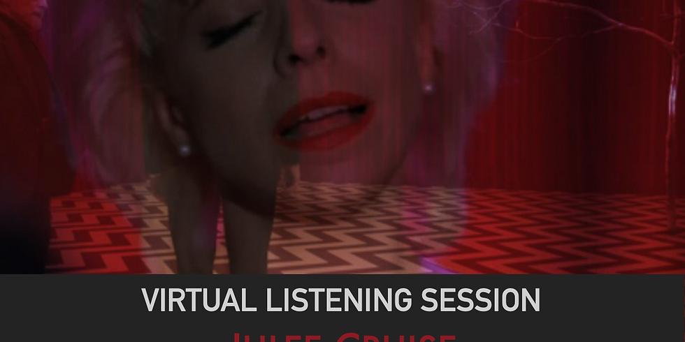Virtual Listening Session: Julee Cruise
