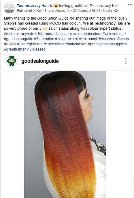 best hair salon neath shared by the good
