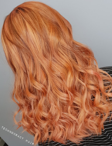 rose gold hair neath colour hair passion best stylist neath