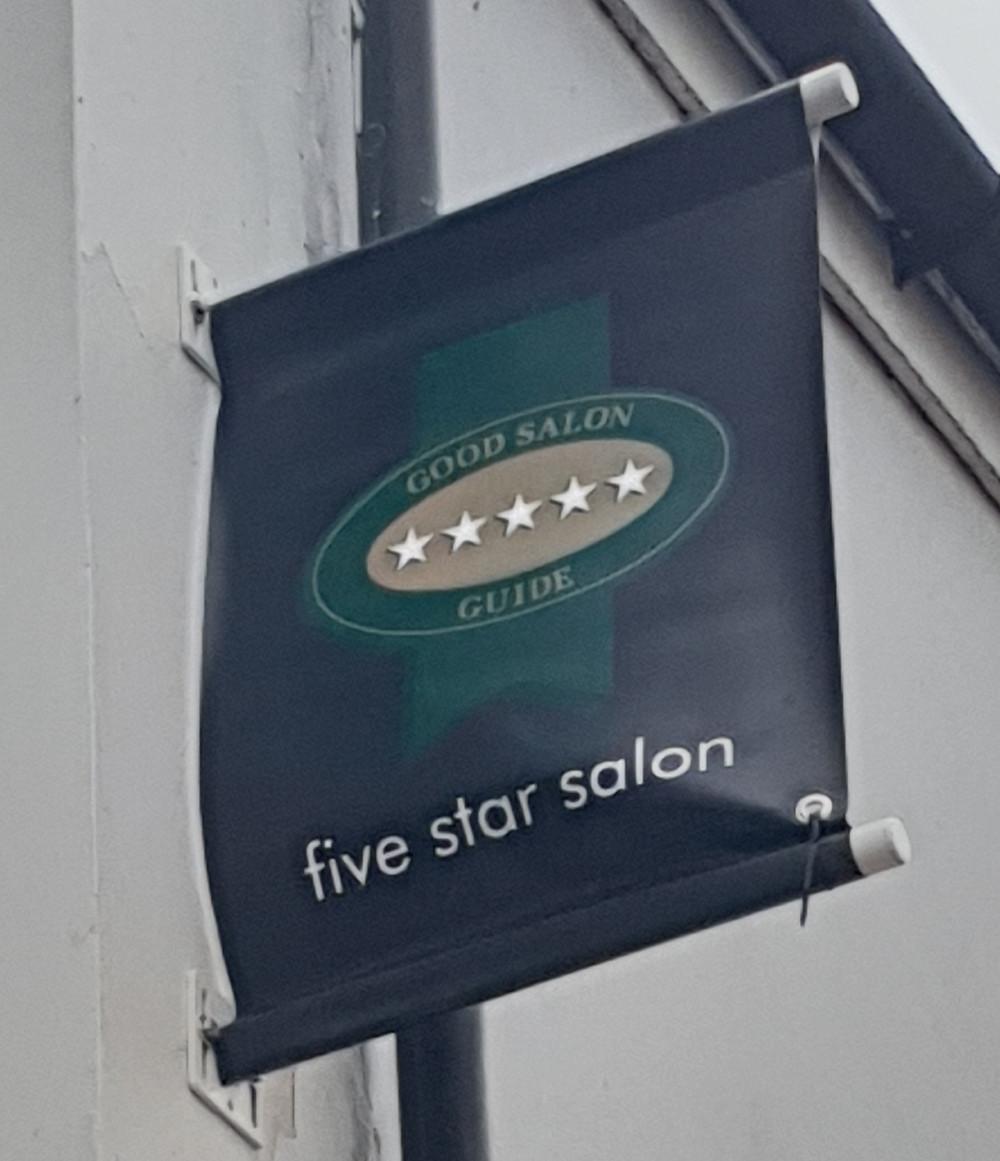 5* salon 5 star salon best hairdresser neath
