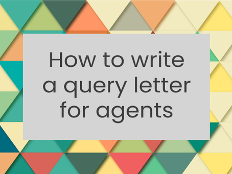 How to write a query letter for agents