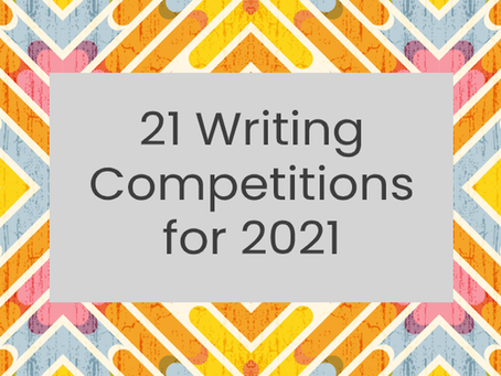 21 Writing Competitions for 2021