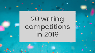 20 writing competitions in 2019