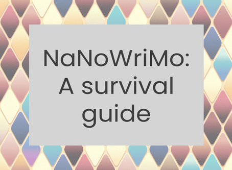 NaNoWriMo: A survival guide