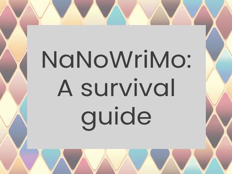 NaNoWriMo: A survival guide