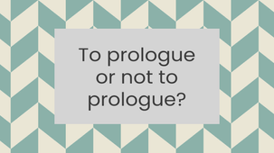 To prologue or not to prologue?