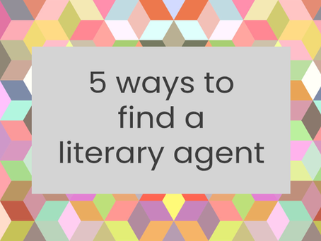 5 ways to find a literary agent