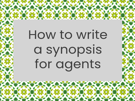 How to write a synopsis for agents