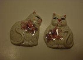 Two Fat Cats Ornaments