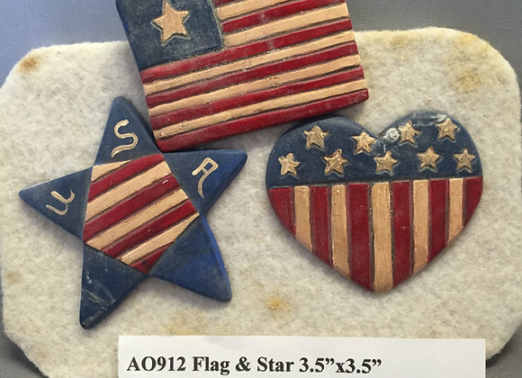 Flag and Star Flat