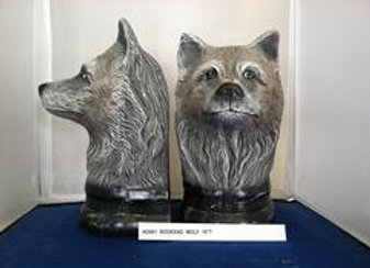 Wolf Bookend