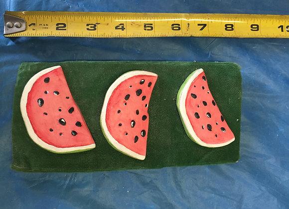 Three Watermelon Slices