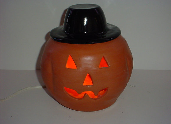 Large Pottery Pumpkin