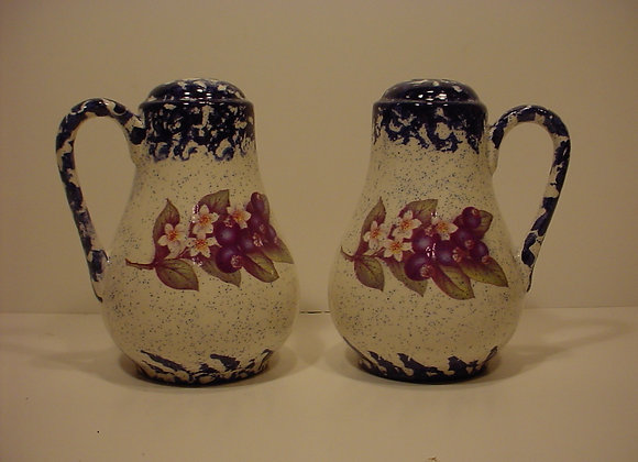 Salt and Pepper Shakers with Handles