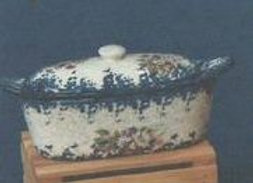 European Covered Butter Dish
