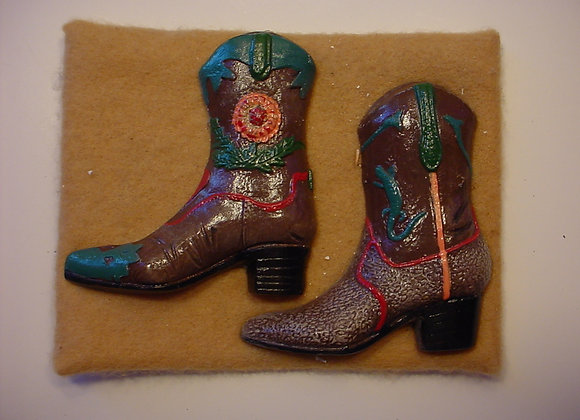 Two Cowboy Boots