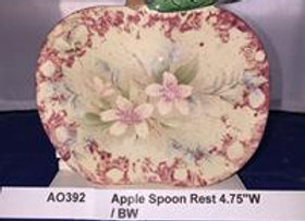 Apple Spoon Rest / Bread Warmer