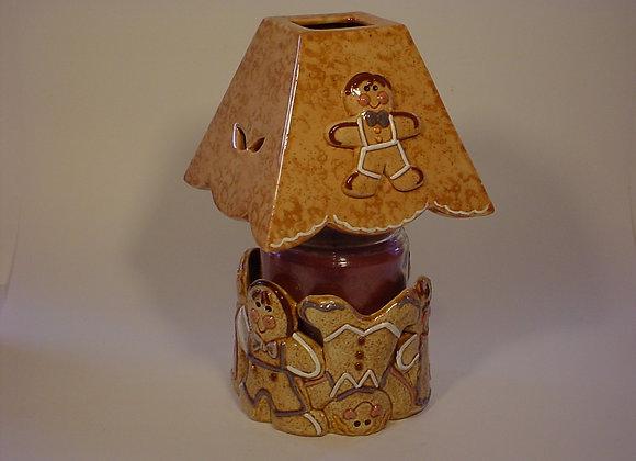 Gingerbread Candle Pot
