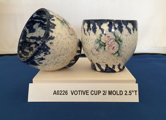 2 Votive Cups