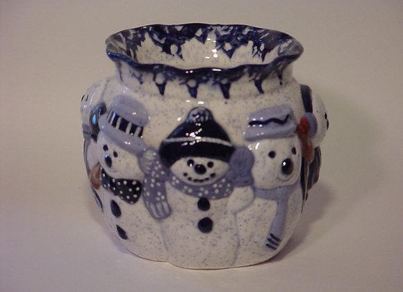 Snowman Fragrance Pot