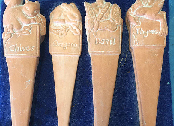 Herb Garden Markers (Set of 4)