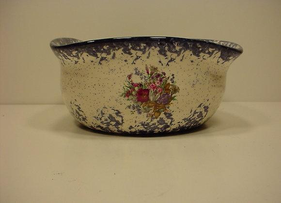 Three Sided Pottery Bowl