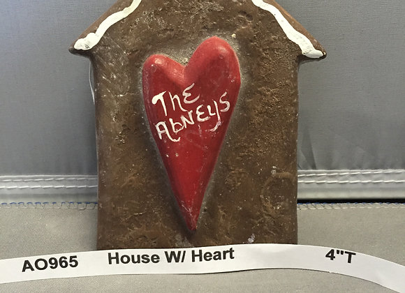 House with Heart Flat