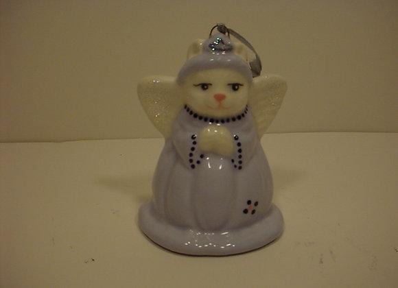 Angel Cat Christmas Ornament