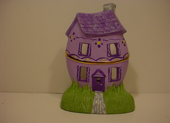 Tea-light: Easter Egg-Shaped Home