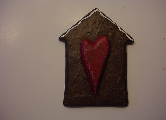 Heart in House Flat