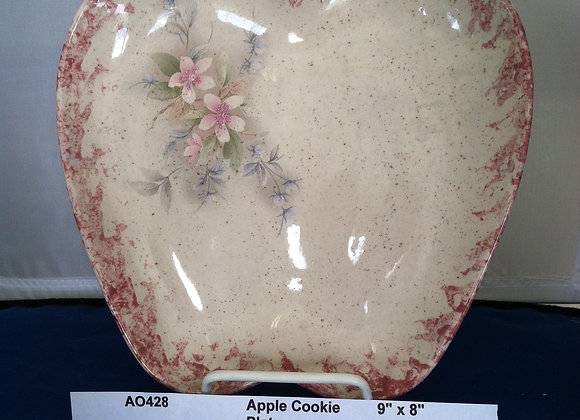 Apple Cookie Plate